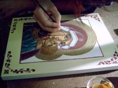 iconen schilderen